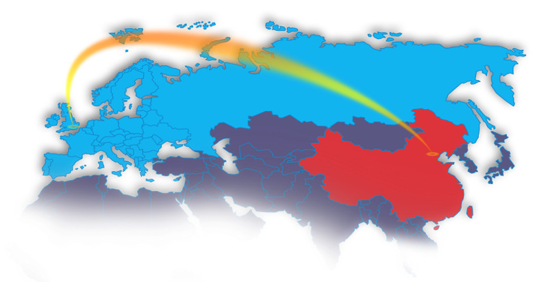 Map Of Europe And China.Linking European And Chinese Research Infrastructures Through The