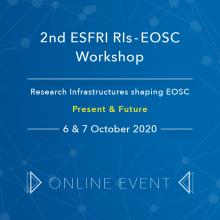 "2nd ESFRI RIs-EOSC Workshop ""Research Infrastructures shaping EOSC"" goes digital"
